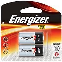 Energizer EL123APB-2 3-Volt Lithium Photo Battery (2-Pack)