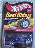Hot Wheels Real Riders Series 4 3/6 1967 Pontiac GTO BLUE