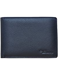 Tamanna Black Multi Card Slots Leather Wallet For Men