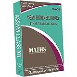 Assam Higher Secondary Final Year Syllabus (Class XII) - Maths Full Syllabus Teaching Video (DVD)