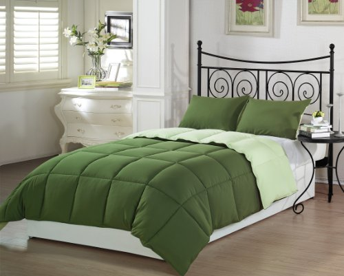 green bedding collections