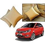 Car Vastra Cushion Pillow Set Beige Color For Car & Home For - Tata Bolt