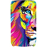 For Samsung Galaxy S3 Mini I8190 :: Samsung I8190 Galaxy S III Mini :: Samsung I8190N Galaxy S III Mini Illustrator Tiger ( Illustrator Tiger, Tiger, Colored Tiger, Colored ) Printed Designer Back Case Cover By FashionCops