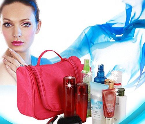 PETRICE Cosmetic Organizer Toiletry Bag For Women And Men Travel Kits Makeup Bags Organizer Hanging Toiletries...