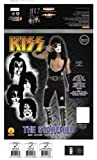 Kiss Deluxe The Starchild Costume, Black, Medium
