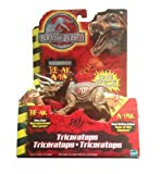 Jurassic Park III Re-Ak A-Tak Electronic Triceratops by Hasbro
