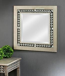 Amazon.com: Large Square Framed Wall Mirror Art Decor