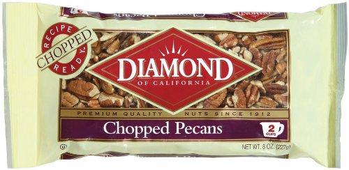 Diamond Chopped Pecans, 8-Ounce