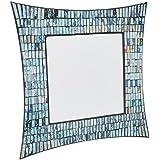 IMAX 96108 Elegant Aramis Mosaic Glass Wall Mirror