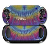 Tie Dye Blue And Yellow Stripes Decal Style Skin Fits Sony Ps Vita