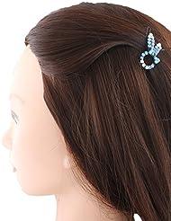 Anuradha Art Blue Colour Adorable Stylish Hair Accessories Hair Cilp For Women/Girls
