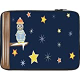 Snoogg Christmas Snow 2468 13 To 13.6 Inch Laptop Netbook Notebook Slipcase Sleeve