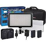 Fujifilm X-T1 IR Digital Camera Lighting Vidpro Varicolor 312-Bulb Video And Photo LED Light Kit
