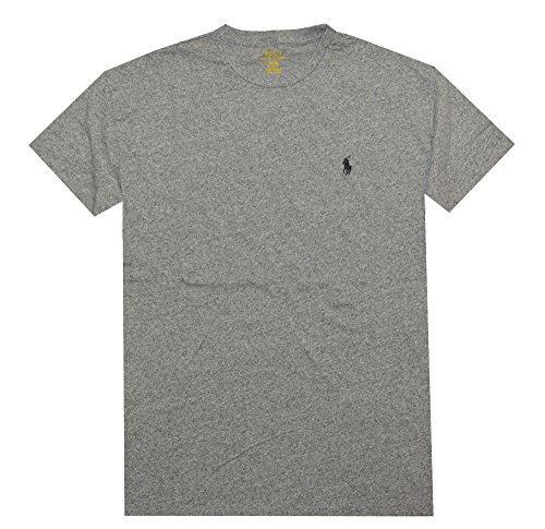 Camiseta de manga corta Ralph Lauren Classic-Fit - Vintage Pepper Heather (Medium)