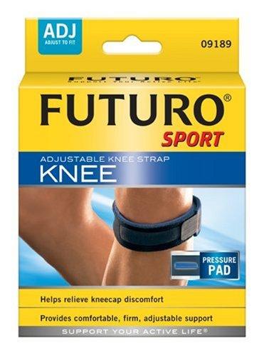Futuro Adjustable Sport Knee Strap, One Size Adjustable (Pack Of 2)