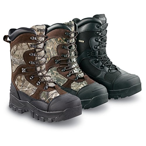 Men's Guide Gear 2400 gram Thinsulate& Ultra Insulation Monolithic Waterproof Boots Mossy Oak, MOSSY OAK, 10.5