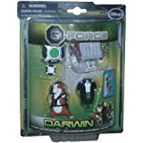 Disney G-Force Movie Series 2-1/2 Inch Tall Toy Action Figure - DARWIN With Dropline And Jetpack Plus Toaster