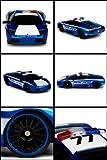 Jada Toys Badge City Heat Licensed Lamborghini Murcielago 1:16 Electric RTR RC Police Car