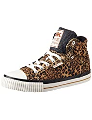 British Knights Women's Dee Brown Leopard Sneakers