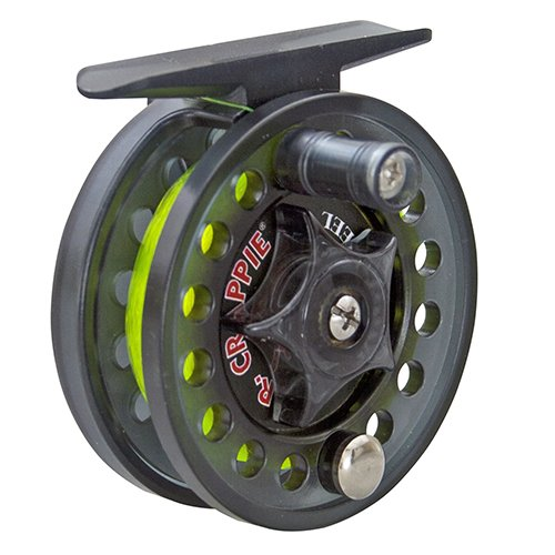 Lew's Fishing Lews Fishing, Mr. Crappie Jiggin Reel, Clam Package