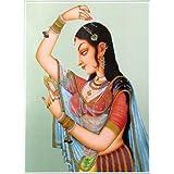 "Dolls Of India ""Shringar"" Reprint On Paper - Unframed (29.21 X 22.86 Centimeters)"