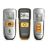 Excelvan Pack de Herramientas de Detector (LCD; Medidor de Distancia Telémetro; 3-en-1 Detector de Metal, Stud, Profundidad; Medidor de Humedad de Madera)
