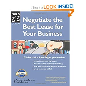 Negotiate the Best Lease for Your Business Fred Steingold Attorney, Janet Portman Attorney
