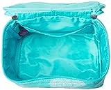 aBaby Maddie Cosmetic Bag, Aqua, Name Amelia