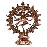 Indian Arts Shop Nataraja Brass (4.06 Cm X 5.59 Cm X 13.72 Cm, )