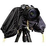 Polaroid SLR Rain Cover Protector For The Olympus Evolt PEN E-P3 PEN E-P2 E-PL1 E-PL2 PEN E-PL3 E-PL5 E-PM1 E-PM2 GX1 OM-D E-M5 E-30 E-300 E-330 E-410 E-420 E-450 E-500 E-510 E-520 E-600 E-620 E-1 E-3 E-5 Digital SLR Cameras