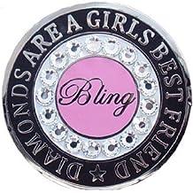 Bella Crystal Collection-USA Bella Crystal Bling-Best Friend Hat Clip Set