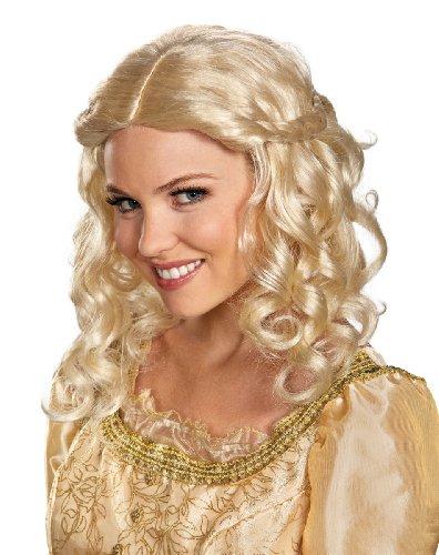 Halloween 2017 Disney Costumes Plus Size & Standard Women's Costume Characters - Women's Costume CharactersDisguise Women's Disney Maleficent Movie Aurora Adult Costume Wig, Blonde, One Size