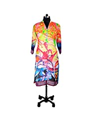 Ishi Maya Multicolor Digital Print Kurti
