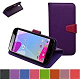Blu Studio 6.0 HD Case,Mama Mouth [Stand View] Folio Flip Premium PU Leather [Wallet Case] With Built-in Media... - B00XJ9EGWW