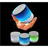 Electomania Rechargeable Bluetooth Speaker WITH LED Wireless Audio Receiver Outdoor, Home Theatre Portable USB...