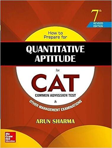 CAT Book for Quantitative Aptitude full review