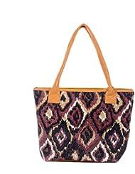 Multi Shades Tote Bag