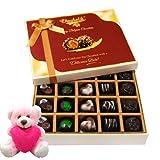 Love Celebration Of Chocolate Box With Teddy - Chocholik Belgium Chocolates