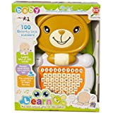 Toyhouse Kids Educational Laptop With Learning Activities Brown