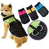 Alcoa Prime New Fashion Small Waterproof Dog Coat Jacket Winter Quilted Padded Puffer Pet Clothes Shipping Plus Size V1NF - B06XGM5L8X