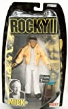 Rocky Collector Series - Rocky 2 - Mick Goldmill - Rocky's Trainer Figure - Burgess Meredith - Limited Edition - Mint - Collectible - (F) by Jakks Pacific