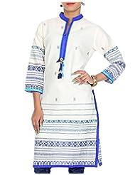 Rajrang Women Printed Tops Tunic Long Kurti Size M - B00OFYLZ4M