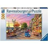 Ravensburger Puzzles A Paris Evening, Multi Color (500 Pieces)