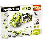 Engino Inventor Build 30 Motorized Multi Models Building Kit, Multi Color
