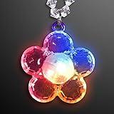 Color Change Led Flower Light Up Necklaces (Set Of 12)