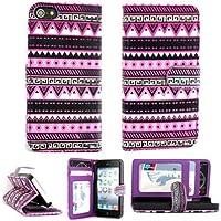 6S Case,iphone 6S Leather Case,iphone 6S 4.7 Case,iphone 6 Flower Case,Leopardcases Iphone 6S 4.7 Flower Wallet...