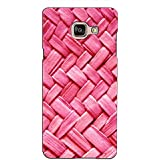 PrintVisa Designer Back Case Cover For Samsung Galaxy On Max (Over Lapping Jute Pattern)