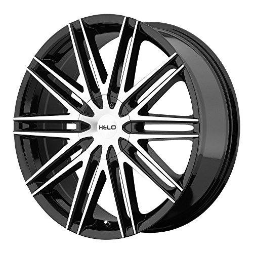 Helo HE880 Gloss Black Wheel With Machined Face (20×8.5″/5×115, 120mm, +42mm offset)
