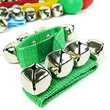 kilofly Musical Instruments Rhythm Toys Value Pack 10 Maracas & 10 Wrist Bells