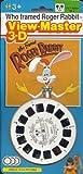 Disney's Who Framed Roger Rabbit ViewMaster 3 reel Set - 21 3d Images